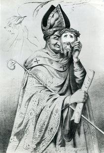 Caricature of Pope Pius IX von Dutch School