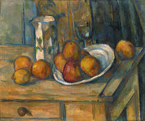 Still Life with Milk Jug and Fruit by Paul Cezanne
