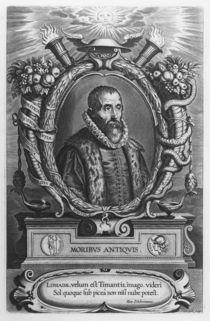 Portrait of Justus Lipsius by Cornelis the Elder Galle
