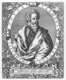 Clément Marot by French School