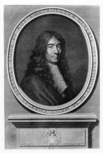 Portrait of Charles Perrault by Etienne Baudet
