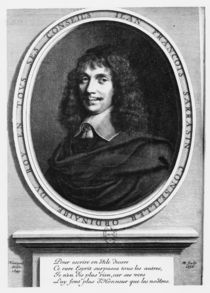 Portrait of Jean-François Sarasin by Robert Nanteuil
