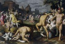 The Massacre of the Innocents von Cornelis Cornelisz. van Haarlem