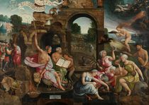 Saul and the Witch of Endor by Jacob Cornelisz van Oostsanen