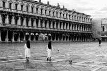 Piazza San Marco at dawn by Dima Veselov