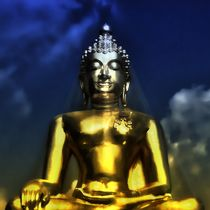 Erleuchteter Budhha 2 von kattobello