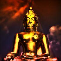 Erleuchteter Buddha 4 von kattobello