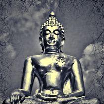 Retro Buddha 1 von kattobello