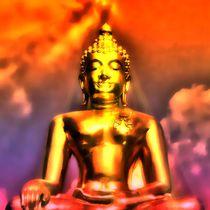Erleuchteter Budhha 3 by kattobello