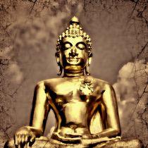Retro Buddha 3 von kattobello