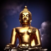 Vintage Buddha 2 von kattobello
