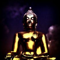Vintage Buddha 1 von kattobello