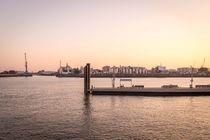 Sonnenuntergang Hafencity von fraugipp
