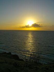 Sonnenuntergang über der Nordsee von atelier-kristen