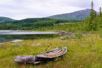 Das alte Ruderboot von Thomas Matzl
