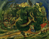 Ch. Soutine, Landscapen in Southern France / painting 1922/23 by AKG  Images