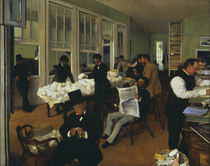 Degas / Office o. the cotton merchants/1873 by AKG  Images