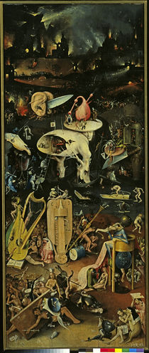 Hell / The Garden of Earthly Delights / H. Bosch / Triptych, 1490 -1510 by AKG  Images