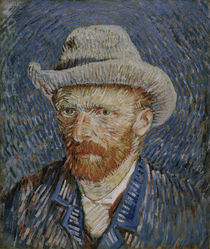 van Gogh, Self-portrait with grey felt hat by AKG  Images