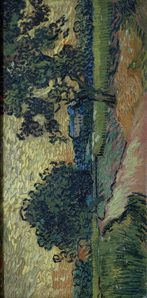 V. v. Gogh, Zwei Birnbäume u. das Schloß... von AKG  Images