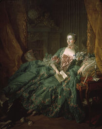 Madame Pompadour / Ptg. by Boucher / 1756 by AKG  Images