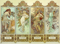 Mucha / The Four Seasons / 1896 by AKG  Images