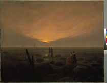 C.D.Friedrich / Moonrise by the Sea by AKG  Images
