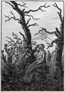 Friedrich / Woman with the cobweb /c. 1801 by AKG  Images