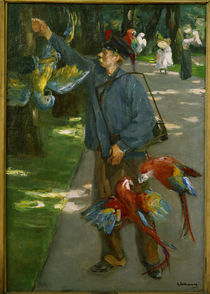 Liebermann / The parrot-man / 1902 by AKG  Images
