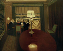 The Poker Players / F. Vallotton / Painting 1902 by AKG  Images