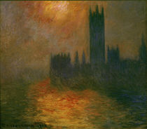 Monet / Parliament (London) / 1904 by AKG  Images