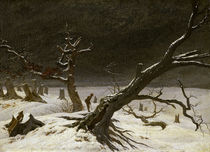 C.D.Friedrich, Winter Landscape 1811 by AKG  Images