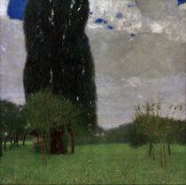Gustav Klimt / The Great Poplar I. by AKG  Images