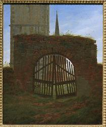 C.D.Friedrich, Das Friedhofstor von AKG  Images