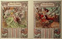 A.Mucha / Calendar 1898 by AKG  Images