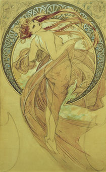 A.Mucha / The Dance / 1898 by AKG  Images