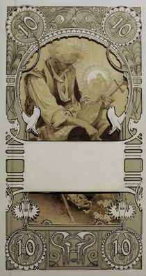 A.Mucha, Design for Stamps by AKG  Images
