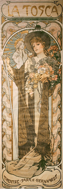 Sardou, Tosca / Poster by Mucha by AKG  Images