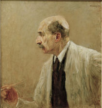 Max Liebermann / Self-Portrait / 1915 by AKG  Images