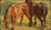F.Marc / Small Painting of Horses by AKG  Images