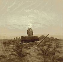 Friedrich / Landscape with tomb.../c. 1836 by AKG  Images