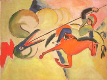 August Macke / St. George by AKG  Images
