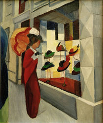 A.Macke / Hat Shop / 1914 by AKG  Images