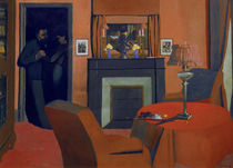 Vallotton / The red room / 1898 by AKG  Images