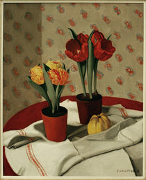 F.Vallotton / Still Life: ... Tulips by AKG  Images