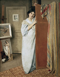 Felix Vallotton, The artist's wife by AKG  Images