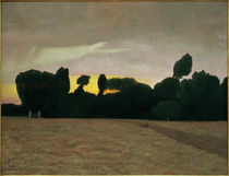F.Vallotton / Landscape in Normandy by AKG  Images