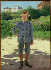F.Vallotton / Portrait of Young Delisle by AKG  Images
