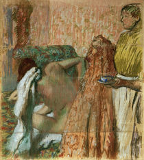 Degas / Breakfast after the bath /c. 1893 by AKG  Images