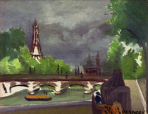 H.Rousseau, Eiffel Tower and Trocadéro by AKG  Images